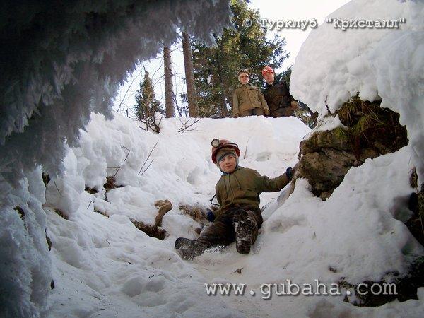 Губаха 006.jpg Пещера Российская Горнолыжный центр Губаха горные лыжи сноуборд Город Губаха Фото