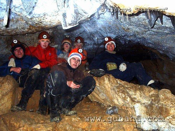 Губаха 022.jpg Пещера Темная Горнолыжный центр Губаха горные лыжи сноуборд Город Губаха Фото