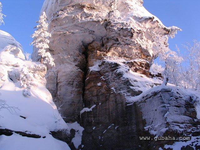 Губаха 024.jpg Каменный город - зима Горнолыжный центр Губаха горные лыжи сноуборд Город Губаха Фото